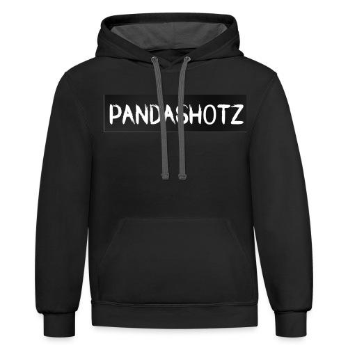 Panda's Shirtline - Contrast Hoodie