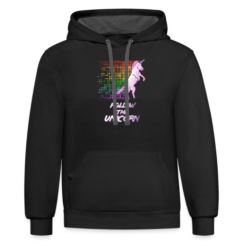 Follow The Unicorn - Contrast Hoodie
