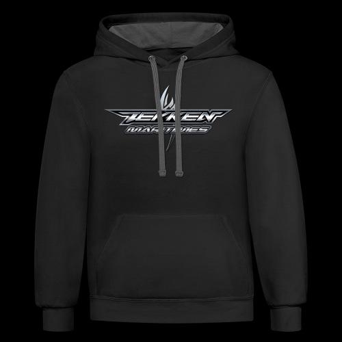 Tekken Maritimes Logo transparent - Contrast Hoodie