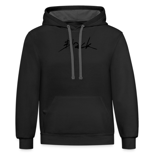 Black (Brand) - Contrast Hoodie