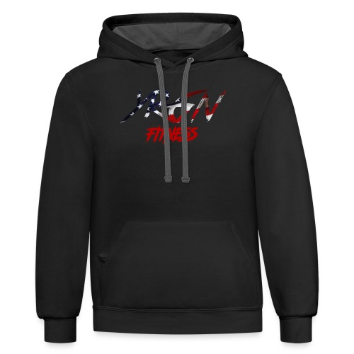 YRGN FITNESS - Contrast Hoodie