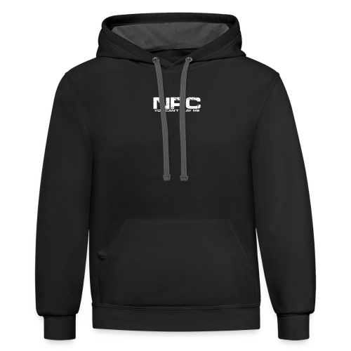 Can't Play Me - Contrast Hoodie