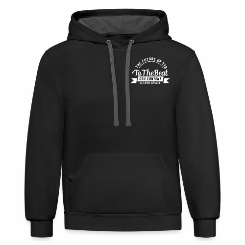 the future of ttb - Contrast Hoodie