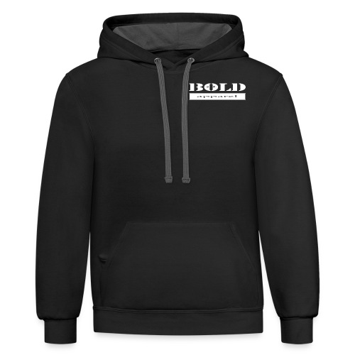 bold clothing apparel est..... 2010 - Contrast Hoodie