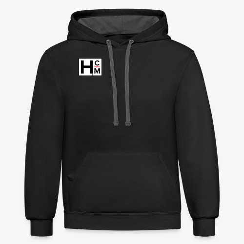 he&hers chase money - Contrast Hoodie