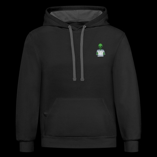 Pay to get him home. - Contrast Hoodie