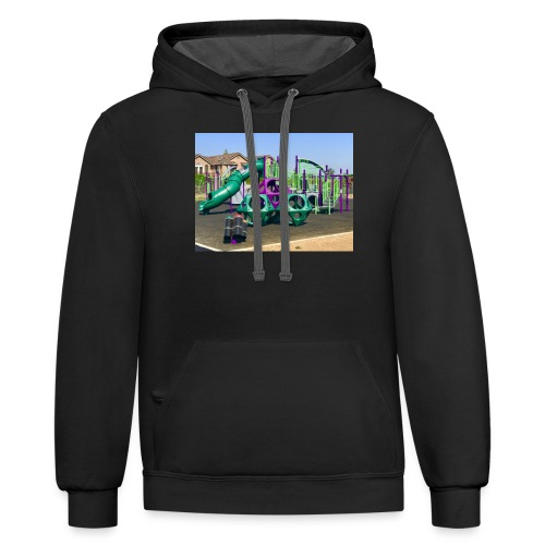 Awesome playground - Contrast Hoodie