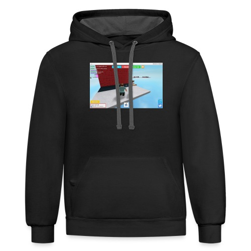 People Browse Me To Much - Contrast Hoodie