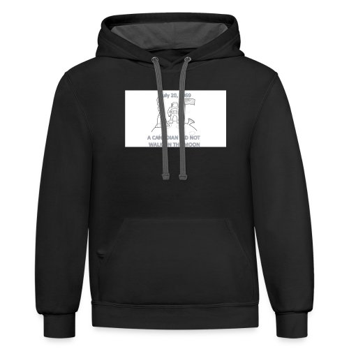 Only America - Contrast Hoodie