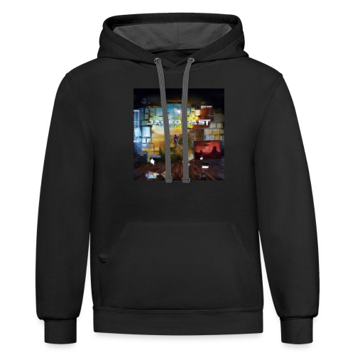 BELIEVE OFFICIAL COVER - Contrast Hoodie