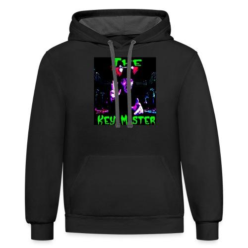 The Key Master Custom - Contrast Hoodie