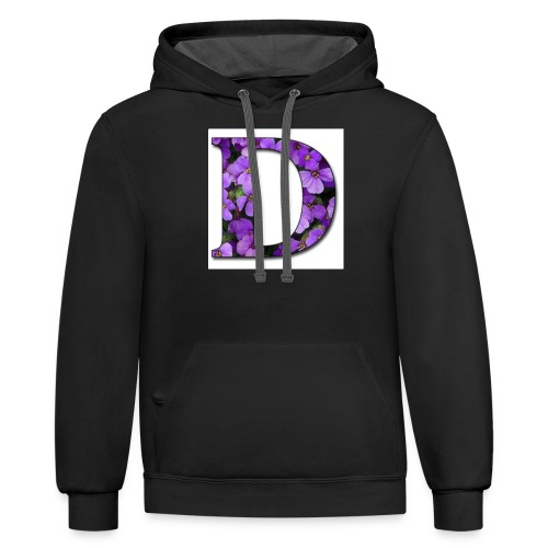 D Nation Sweater - Contrast Hoodie