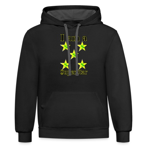 I am a SuperStar all collections - Contrast Hoodie