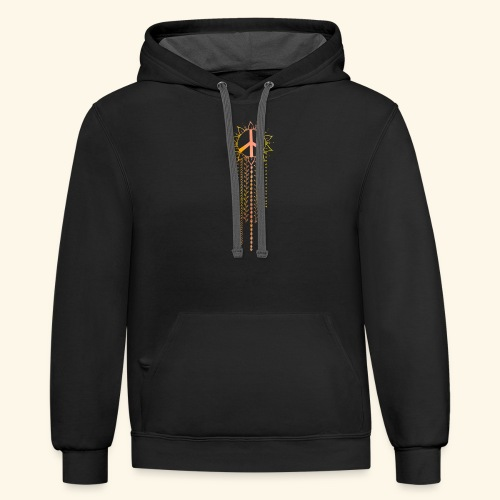Watercolor Dreamcatcher - Contrast Hoodie