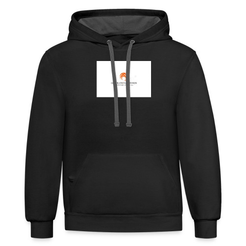 Expression is the legacy that I leave to my family - Contrast Hoodie
