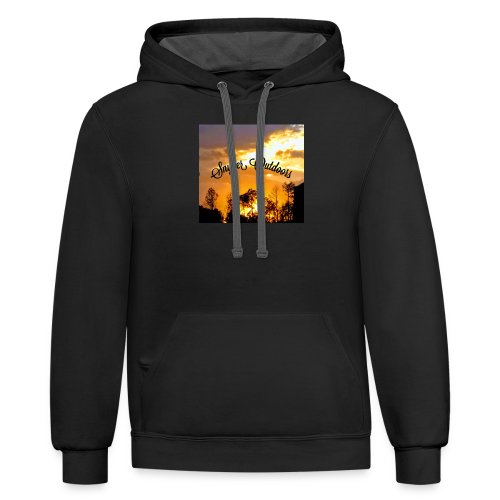 Sunset SnyderOutdoors - Contrast Hoodie