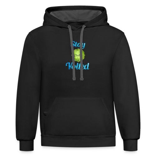 Stay Volted - Contrast Hoodie