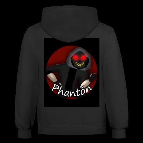Phantón T-Shirt Design - Contrast Hoodie