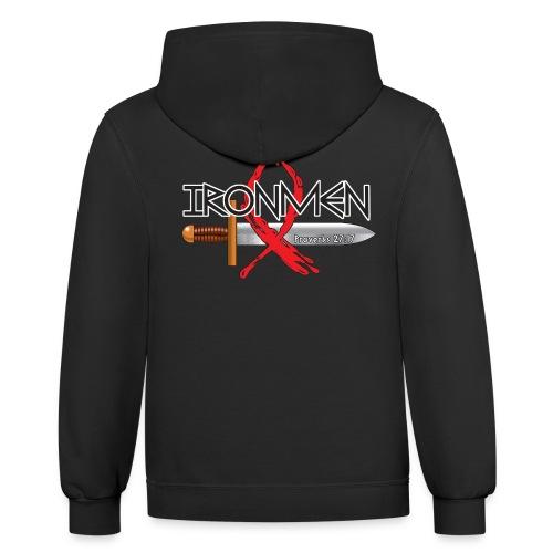 Ironman - Contrast Hoodie