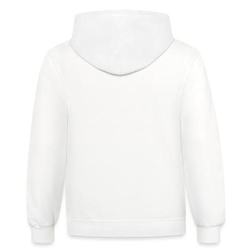 [YRC] White Stock Arrow - Unisex Contrast Hoodie