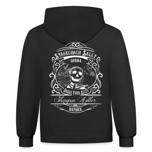Stagecoach Sally - Unisex Contrast Hoodie