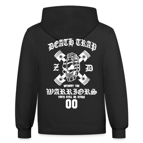 ZD Warrirors White - Contrast Hoodie