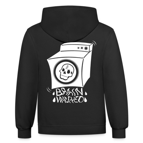BRAIN-WASHED - Contrast Hoodie