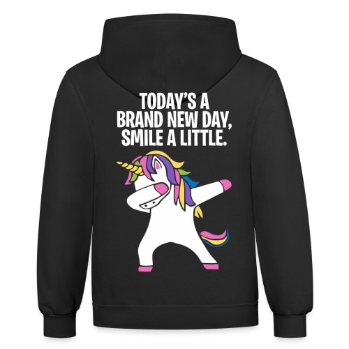 Unicorn DAB T-shirt - Contrast Hoodie