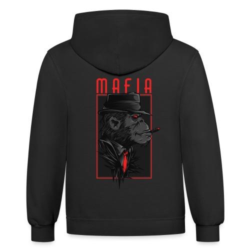 mafia - Unisex Contrast Hoodie