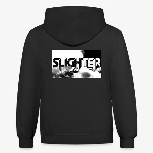 Slighter Logo Corrosion - Contrast Hoodie