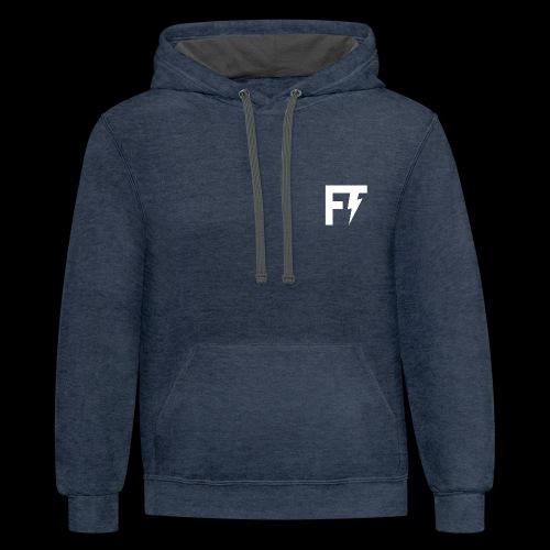 FT LOGO - Contrast Hoodie