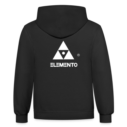 Official logo of ELEMENTO® Arts - Contrast Hoodie