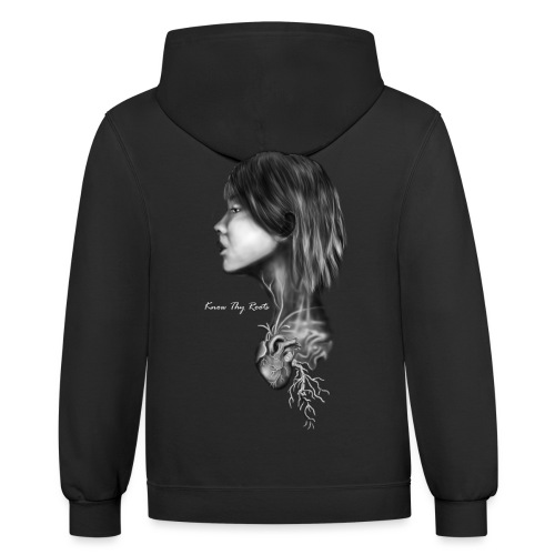 Know Thy Roots - Unisex Contrast Hoodie