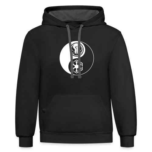 Star Wars SWTOR Yin Yang 1-Color Light - Contrast Hoodie