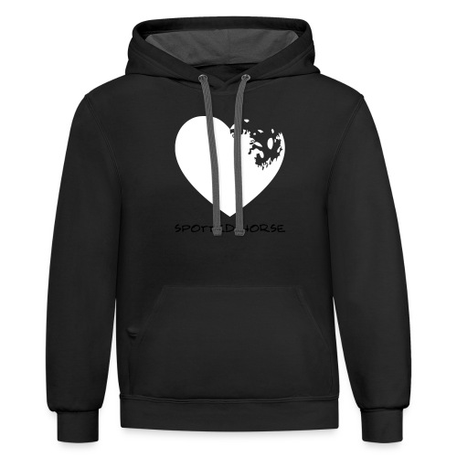 Appaloosa Heart - Contrast Hoodie