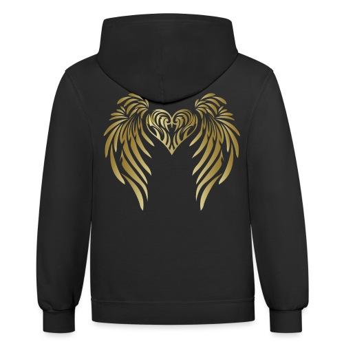Angel Messenger - Inspiration - Contrast Hoodie