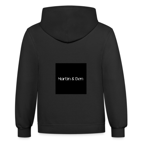 Martin And Ben Merch - Unisex Contrast Hoodie