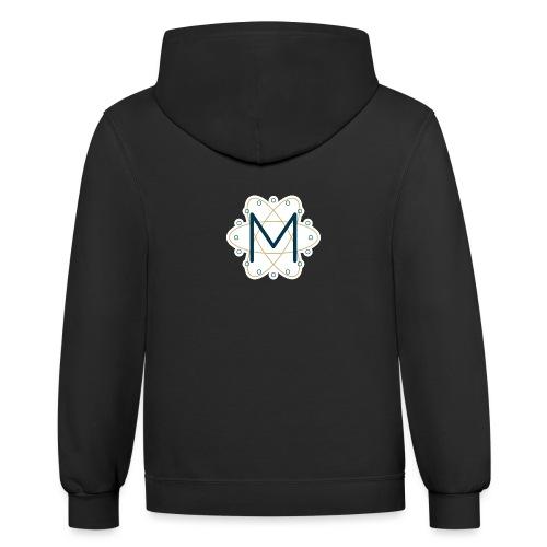 Macca's Tech Logo - Contrast Hoodie