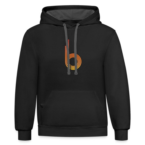 BossUp101 Icon - Contrast Hoodie