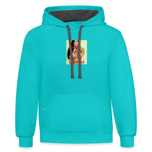 Latinas do it better - Contrast Hoodie