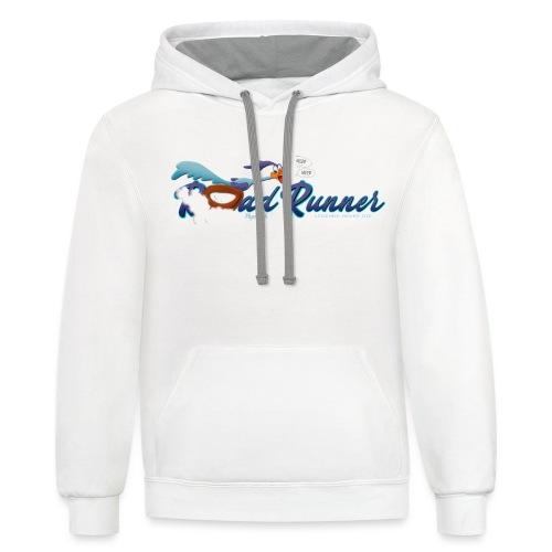 Plymouth Road Runner - Legends Never Die - Unisex Contrast Hoodie