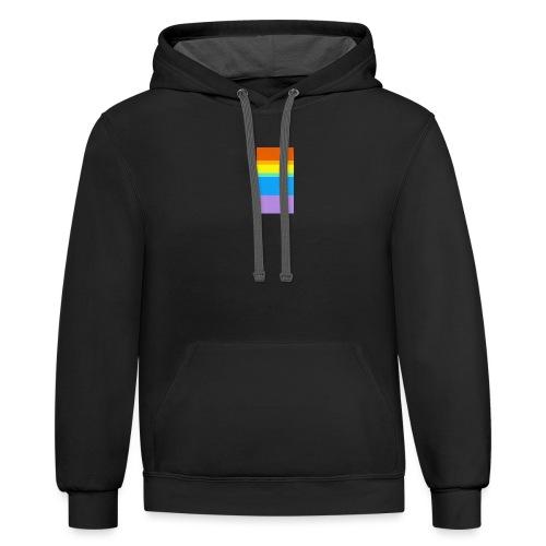 Modern Rainbow - Contrast Hoodie