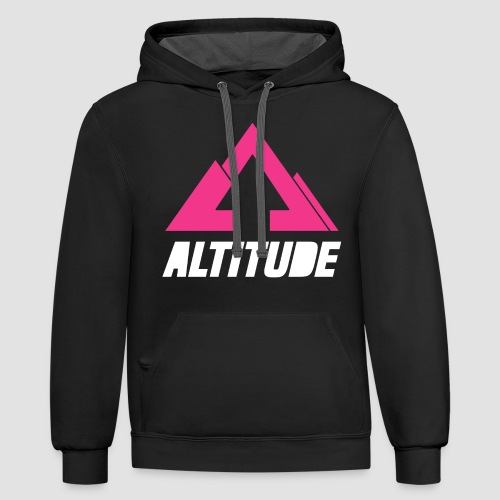 Empire Collection - Pink - Unisex Contrast Hoodie