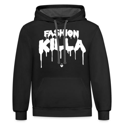 FASHION KILLA - A$AP ROCKY - Unisex Contrast Hoodie