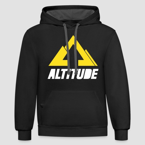 Empire Collection - Yellow - Unisex Contrast Hoodie