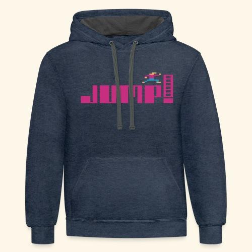 Jump! - Contrast Hoodie