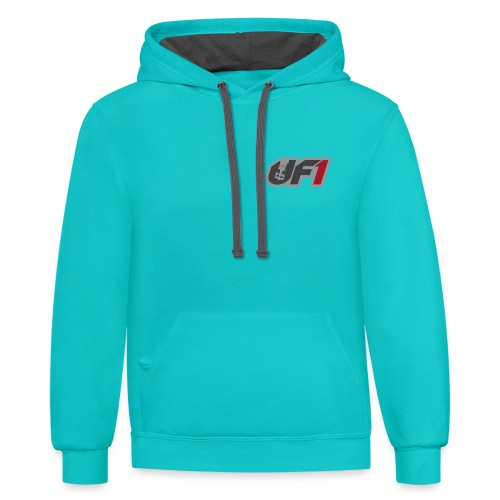 UF1 - Ultimate Formula 1 - Unisex Contrast Hoodie