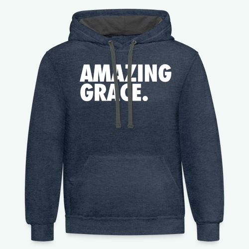 AMAZING GRACE - Contrast Hoodie