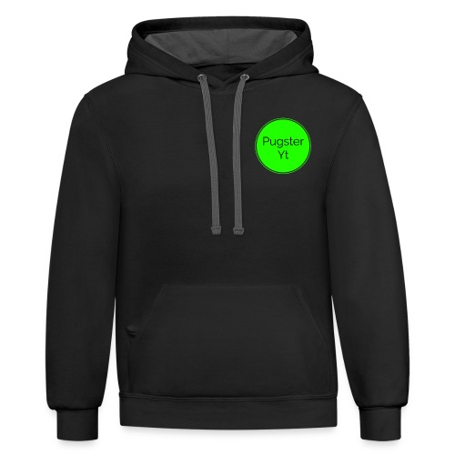 Pugster YT O - Unisex Contrast Hoodie