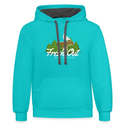 Fresh Out Nature Collection - Contrast Hoodie